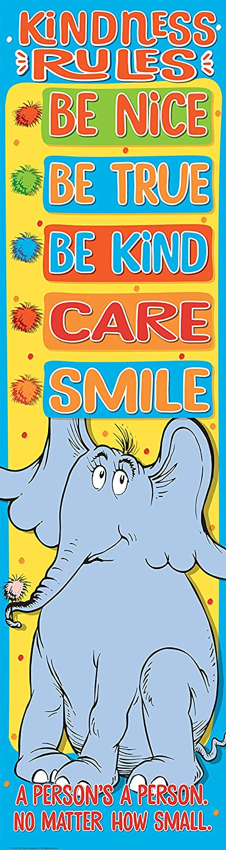 Eureka Dr. Seuss Horton OFFicial Hears a Japan Maker New Classroom Rules Pos Kindness Who