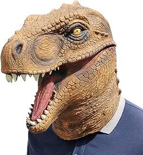 Mikilon Dinosaur Mask for Halloween Costume Party Decorations, Halloween Props, Halloween Supplies