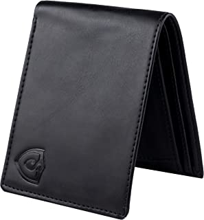 Keviv® Genuine Leather Wallet for Men || Men's Wallet || (Black)