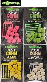 Korda Fake Pop-up Corn (12 pièces) Maïs artificiel Appâts pour la pêche à la carpe