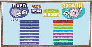 Fun Express Growth Mindset Bulletin Board Set (8 Pieces) Classroom Decor