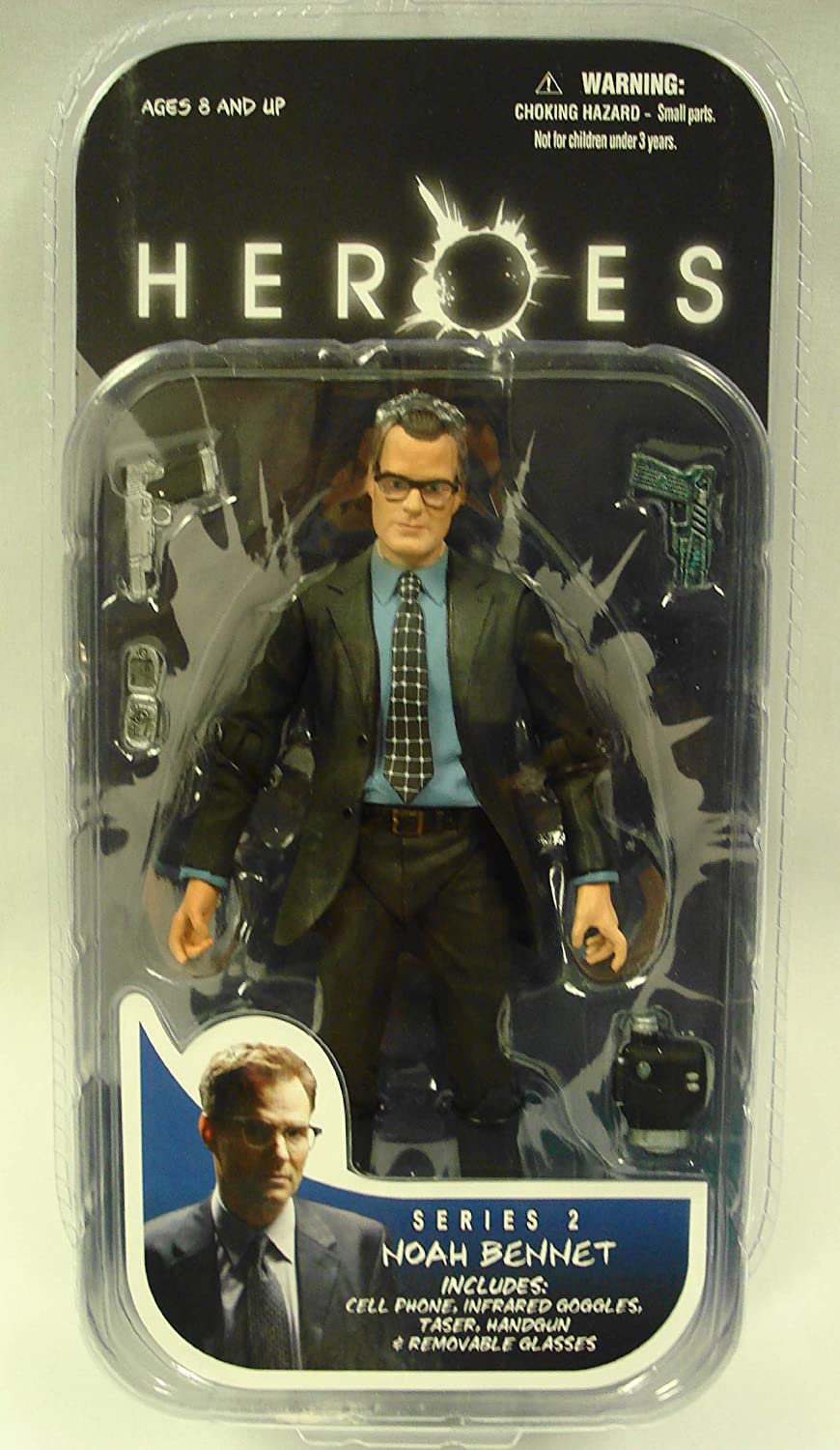 Heroes Series 2 Noah Bennet Action Figure