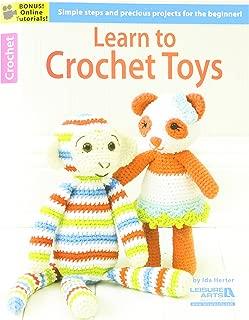 LEISURE ARTS LEA6188 Learn to Crochet Toys Bk
