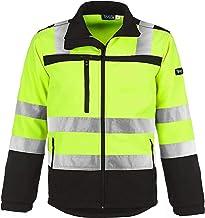 TMG® Veiligheidsjas voor heren, waterafstotende softshell werkjas (klasse 2)