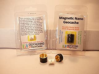 Shopgsc Magnetic Nano Geocache - Black 5 - Pack