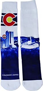 Colorado Limited Unisex Colorado Graphic Crew Socks (One Size Fits All)