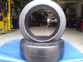 Forklift Black Smooth Tire 14X5X10