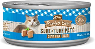Merrick Purrfect Bistro Grain Free Cat Recipes Surf And Turf - 24 Pack