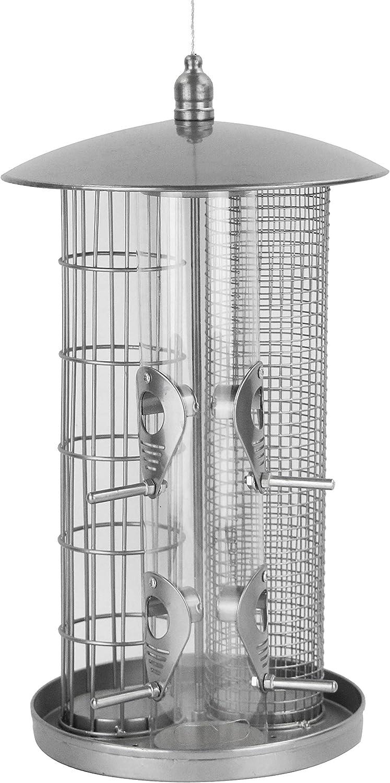 Fort Worth Mall Dehner Natura 3-in-1 Wild Bird Height: cm Feeder Diameter: Chicago Mall 22