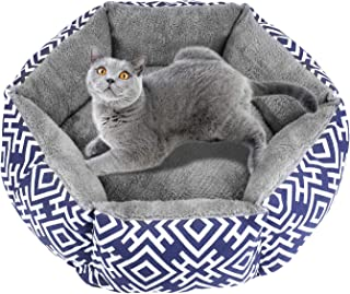 Akarden Cat Bed, Comfortable Cat & Dog House Bed, Self Warming Indoor Pet Bed, Machine Washable