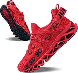 Mens Running Shoes Walking Non Slip Blade Type Sneakers