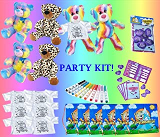 Teddy Mountain Birthday Party Kit Bear Building for SIX a Build Your Own No Sew DIY 16