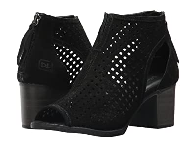 Dirty Laundry Tessa Peep Toe Bootie (Black) Women
