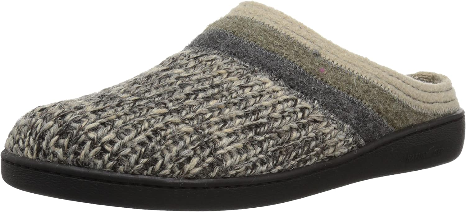 Haflinger Woherren at Jade W Slip on Slipper, grau, 44 EU 11 M US