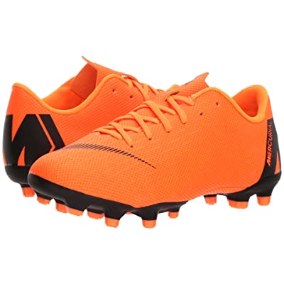 Nike Kids Vapor 12 Academy MG Soccer (Toddler/Little Kid/Big Kid) (Total Orange/Black/Total Orange/Volt) Kids Shoes