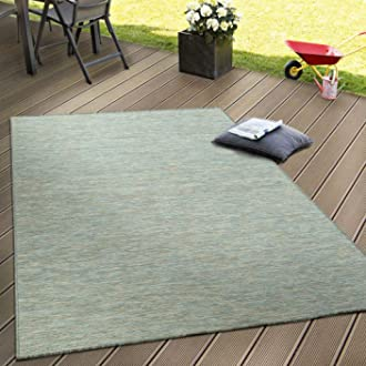 Dimension:60x100 cm Paco Home Tapis Int/érieur Ext/érieur Moderne Design Nomade Terrasse R/ésistant Color/é