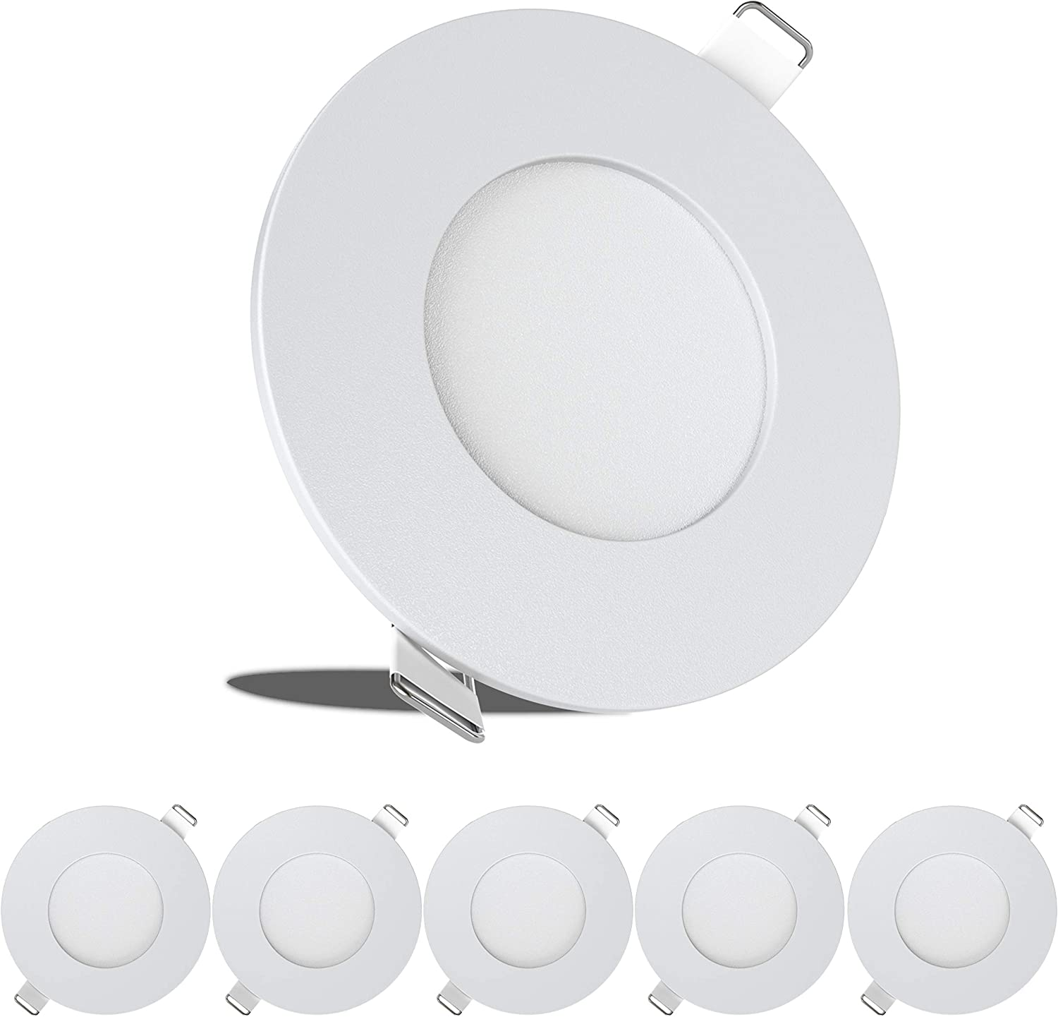 2021 autumn Cheap SALE Start and winter new 5 Pack Leisure LED RV Boat Supe 240 Recessed Light Lumen Ceiling