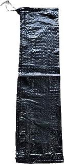 耐候性まくら土のう 黒色 200枚入り 災害用土のう 27cm×90cm マクラ土嚢