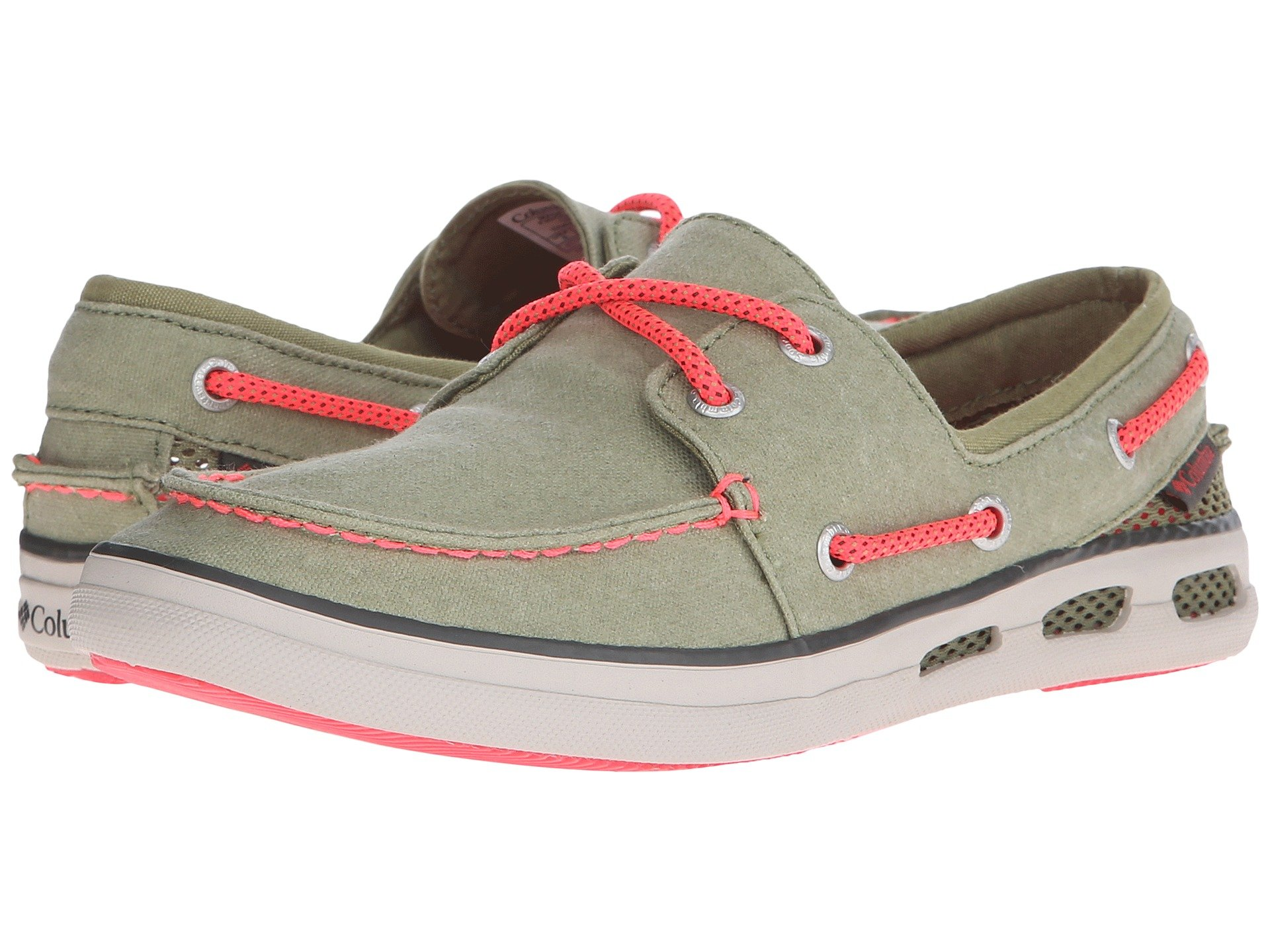 Boat Shoes para Mujer Columbia Vulc N Vent™ Boat Canvas  + Columbia en VeoyCompro.net