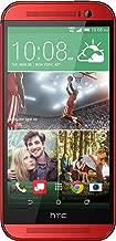 HTC One M8 32GB Unlocked GSM 4G LTE Quad-Core Smartphone - Red