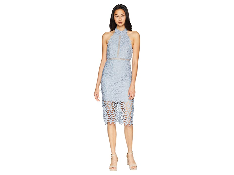 Bardot Gemma Dress (Dusty Blue) Women's Dress