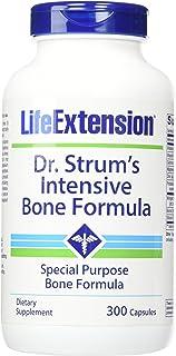 Life Extension Dr. Strums Intensive Bone Formula Vegetarian Capsules, 300 Count