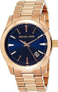 Michael Kors Mens Quartz Watch, Analog Display and Stainless Steel Strap MK7065
