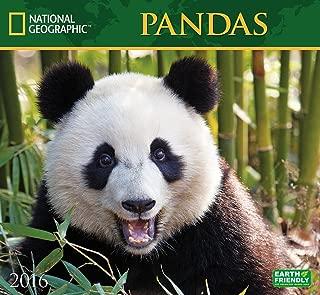 Pandas National Geographic 2016 Wall Calendar
