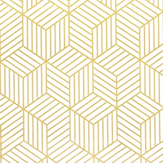 Best gold geometric peel and stick wallpaper Reviews