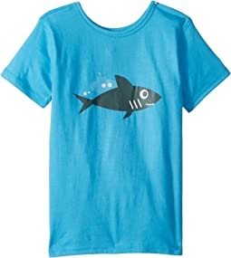 4Ward Clothing - PBS KIDS® - Ocean Graphic Reversible Tee (Toddler/Little Kids)