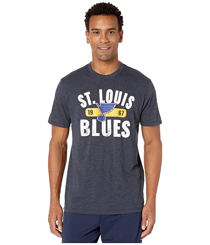 St Louis Blues Milestone Match Tee Fall Navy