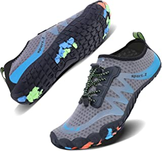 Mens Womens Water Sport Shoes Quick Dry Aqua Socks Barefoot Outdoor Beach Swim Surf Pool Yoga Shoes