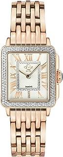 Women's Padova Stainless Steel Swiss Quartz Watch Tone Strap, Rose Gold, 18 (Model: 12310B)