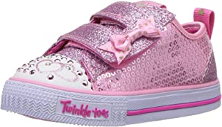 Skechers Kids Girls' Shuffles-Itsy Bitsy Sneaker