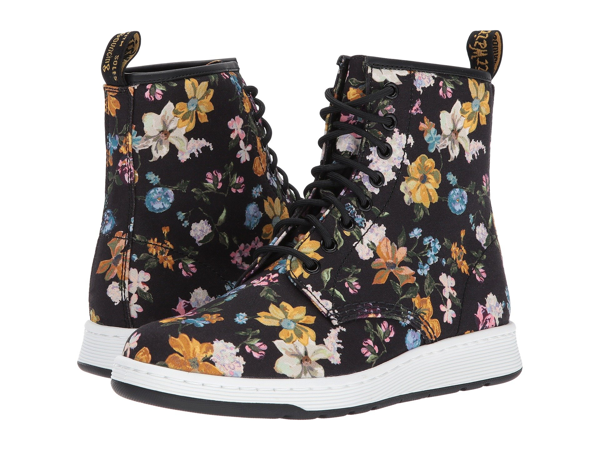 Darcy Floral Newton 8-Eye Boot
