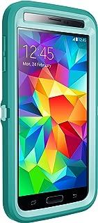 Otterbox Defender Series for Samsung Galaxy S5 - Frustration Free Packaging - Aqua Sky (Aqua Blue/Light Teal)
