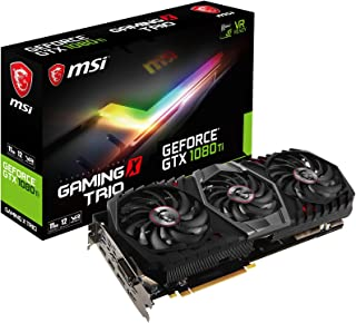 MSI GeForce GTX 1080 Ti Gaming X Trio GeForce GTX 1080 Ti 11GB GDDR5X - Tarjeta gráfica (GeForce GTX 1080 Ti, 11 GB, GDDR5X, 352 bit, 7680 x 4320 Pixeles, PCI Express x16 3.0)