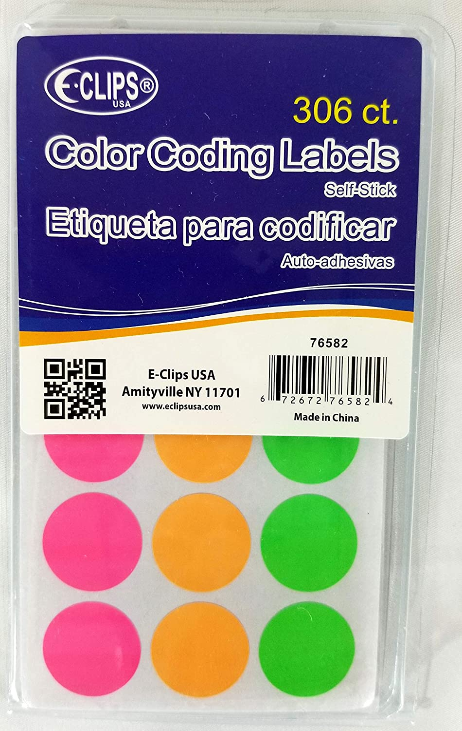 Color Coding Labels Limited time trial price 306 ct Assorted 4