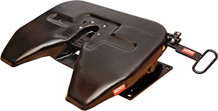Light Duty Fifth Wheel Plate for 27000 lbs Drawbar Capacity for Toy Haulers, Car Carriers, RVs fits Pick-up Trucks, Semi Trailers