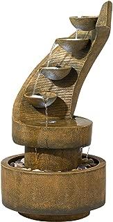 John Timberland Modern Curved Cascading Zen 39 1/2