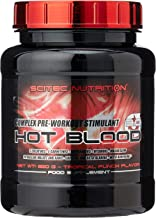 Scitec Nutrition Hot Blood 3 0 Complex Pre-Workout Stimulant Powder – 820g Tropical Punch Estimated Price : £ 35,42