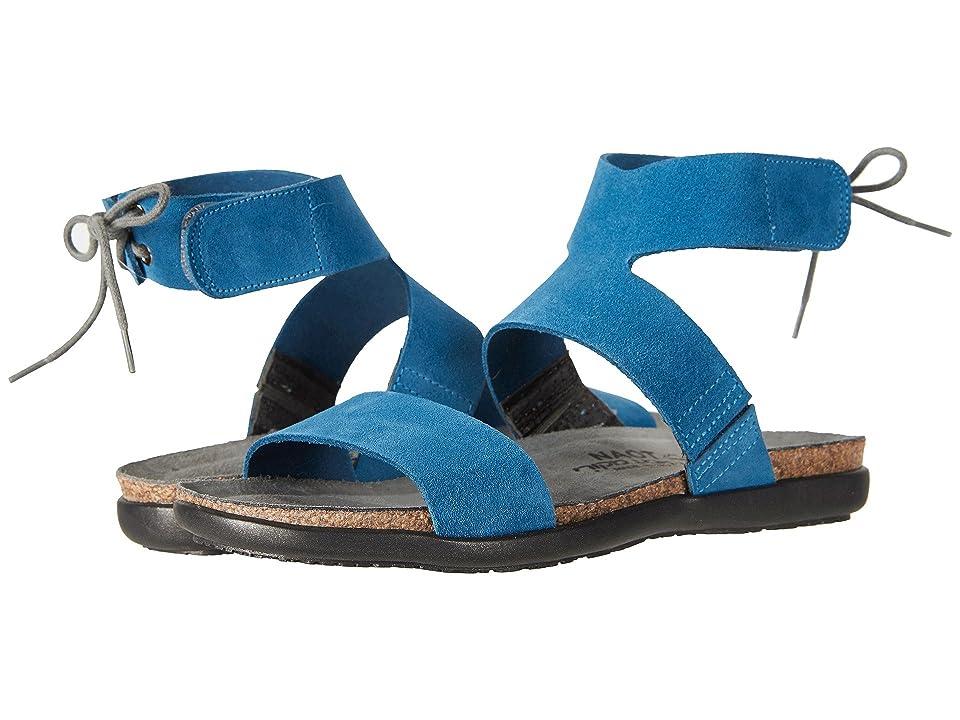 Naot Larissa (Pacific Blue Suede) Women