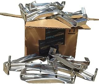 5 inch Premium Quick Screw Gutter Hanger with clip (50-Pack)