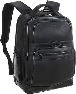 """Colombian Leather Double Gusset 15.6"""" Computer Backpack Mochila de cuero para portátil Unisex adulto"""