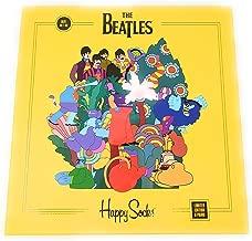 Happy Socks Mens Beatles 50th Anniversary LP Collector's Box 6-Pack