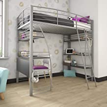 Amazon Com Loft Bed Desk