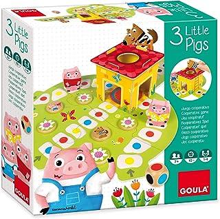 comprar comparacion Goula - Juego Los 3 cerditos (53146)