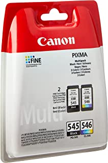 Canon Original Ink PG-545 and CL-546 Colour and Black for Pixma MG2450