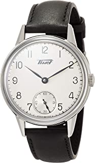 Tradition Petite Seconde 2018 Black Leather Watch T119.405.16.037.00