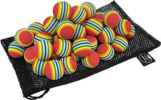 Palaka(パラカ) ゴルフ トレーニング ボール [50Pセット / メッシュポーチ入] EVA素材 そのまま持ち運びOK Pa-PBG50 【正規品】 レッド
